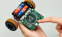 Видеообзор кнопочного программированного робота Artec
