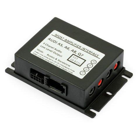 MOST адаптер BOS MI009 для підключення аудіопідсилювача до Audi MMI