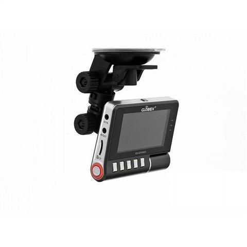 Двухканальный видеорегистратор с монитором Globex GU DVV003