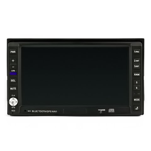 Double DIN Car Multimedia System with TV Tuner