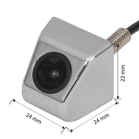Universal Car Camera CS C0005 in Chrome Case