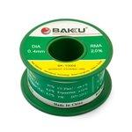 Solder BAKU BK-10004, (Sn 97% , Ag 0,3%, Cu 0,7%, flux 2%, 0,4 mm, 50 g)