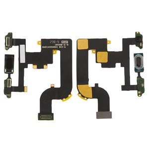 Flat Cable for Motorola A855 Droid, XT702 Milestone Cell Phones, (for mainboard, with speaker, with components)