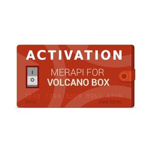 Merapi Activation for Volcano Box
