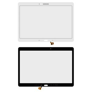 Housing Glass for Samsung T800 Galaxy Tab S 10.5, T805 Galaxy Tab S 10.5 LTE Tablets, (white)