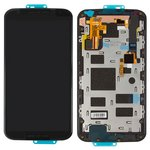 LCD for Motorola XT1092 Moto X (2nd Gen), XT1093 Moto X (2nd Gen), XT1094 Moto X (2nd Gen), XT1095 Moto X (2nd Gen), XT1096 Moto X (2nd Gen), XT1097 Moto X (2nd Gen) Cell Phones, (black, with touchscreen, with frame, Original (PRC))