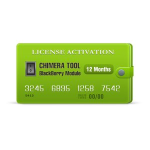 Activación anual de licencia para el módulo BlackBerry de Chimera Tool