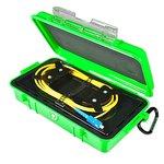 Bobina de compensación con cable para reflectómetro (OTDR) ORIENTEK FL-OTDR-BOX-OM320