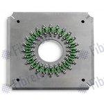 Sujetador para conectores de fibra óptica Fibretool FC/P-24