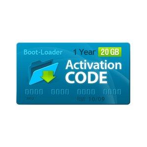Активационный код Boot-Loader v2.0 (1 год, 20+3 ГБ)