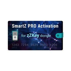 Активация SmartZ PRO для донгла zZKey