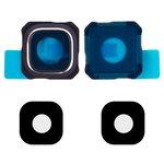 Скло камери для Samsung G928 Galaxy S6 EDGE Plus, синє