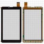 "Сенсорный экран для China-Tablet PC 7""; Globex GU7016C; Pixus Play Three V3.0; X-digital TAB 711 3G; Ergo Tab Link 3G, 7"", 184 мм, 104 мм, 30 pin, емкостный, черный, #JNS-36-03/XCL-S70025B-FPC 1.0"