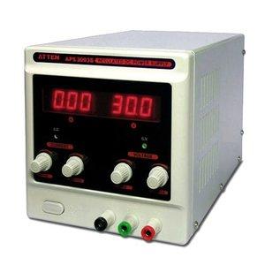 Регулируемый блок питания (3А, 30В) ATTEN APS3003S