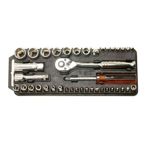Набір торцевих ключів і біт з тріскачкою Pro'sKit 8PK-227 (40 шт.)