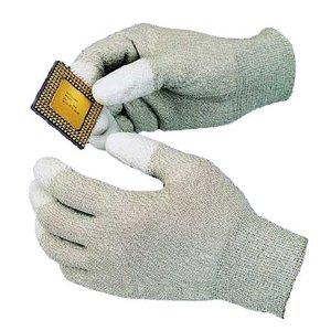 Антистатичні рукавиці з поліуретановими пальцями Goot WG-3M