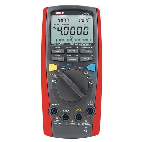 Цифровий мультиметр UNI T UTM 171D UT71D