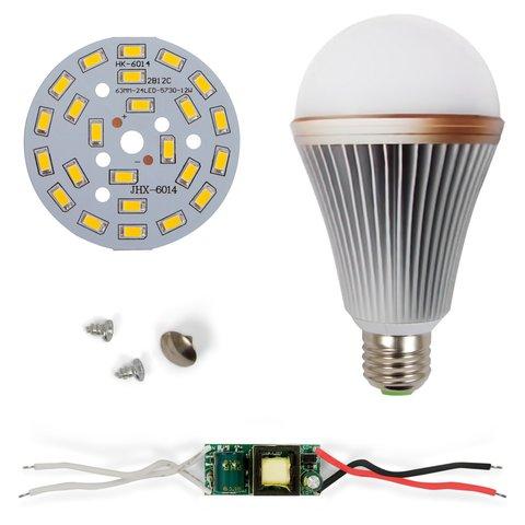 Комплект для збирання світлодіодної лампи SQ Q24 12 Вт теплий білий, E27
