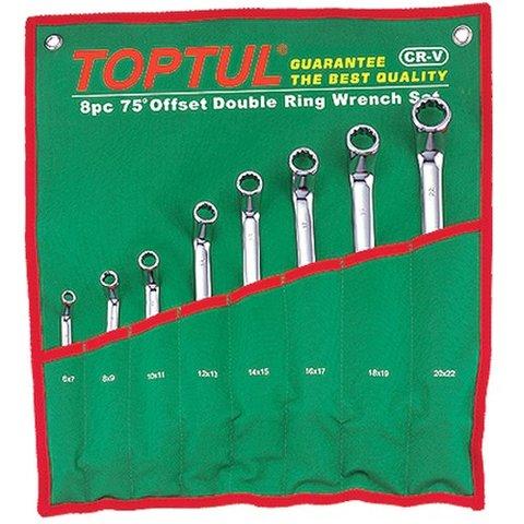 Набір гайкових ключів TOPTUL GAAA0810