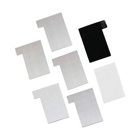 Juego de láminas de magnesio de repuesto CIC 21-752SP para juego de construcción CIC 21-752